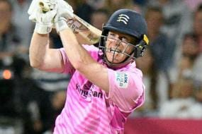Morgan Stars for Middlesex in Record-breaking Domestic T20 Chase