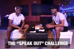 Iyer & Dhawan Take 'Speak Out' Challenge