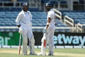 India vs West Indies | Kohli, Agarwal Score Fifties in Attritional First Day of Second Test