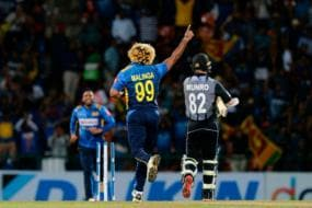 Malinga Takes Four in Four, Becomes First to Take 100 T20I Wickets