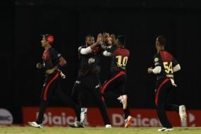 CPL 2019: Trinbago Knight Riders Go Two from Two Despite Russell Fireworks