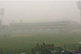 SDMC Undertakes Water Sprinkling to Curb Pollution Around Arun Jaitley Stadium
