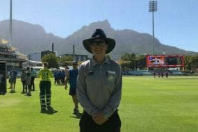 Lauren Agenbag Becomes First Woman to Officiate in South African First Class Cricket