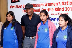 Brian Lara, Smriti Mandhana Give Their Backing to Women's National Cricket Tournament for The Blind