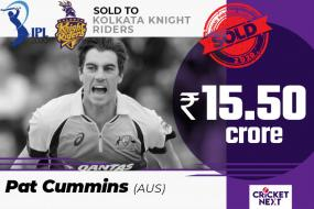 IPL 2020 Auction | Cummins Bought For Rs 15.50 Cr by KKR, Becomes Most Expensive Foreign Buy