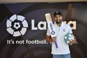 Rohit Sharma Becomes LaLiga's First-ever Brand Ambassador in India