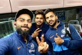 Virat Kohli and India Arrive in New Zealand, First T20I on Friday