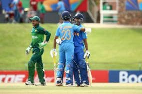 India vs Pakistan Live Score, U19 World Cup 2020, Semi Final: Jaiswal's Unbeaten Century Helps India Thump Pakistan by 10 Wickets