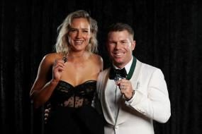 David Warner, Ellyse Perry Bag Top Honours at Australian Cricket Awards