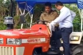 MS Dhoni Spotted Driving his 'Newest Beast', CSK Shares Video