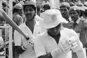 When Sunil Gavaskar's Wish of Scoring a Faster Fifty Than Kris Srikkanth Became Reality