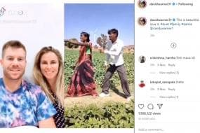 David Warner, Candice Warner Give Thumbs up to Indian TikTok User for Dance Video