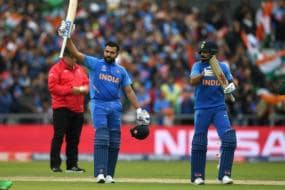July 6, 2019 | Rohit Sharma Becomes Only Batsman to Score Five Centuries in a World Cup