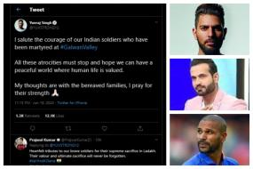 'A Sacrifice That Will Never be Forgotten' – Cricketers Mourn Soldiers Martyred in Galwan Valley