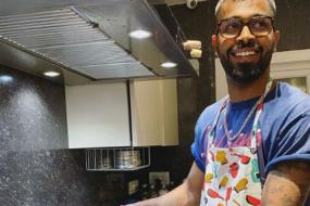 Never Too Late to Try Your Hand at Learning Something New: 'Chef' Hardik Pandya