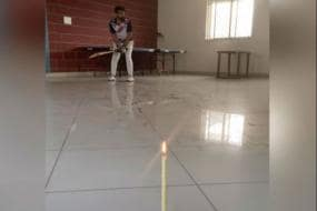 Watch: Cricketer Blows Out Candle in Style, Leaves Social Media in Awe