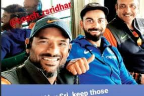 Virat Kohli and Ravi Shastri Lead the Wishes for Indian Team's Fielding Coach R Sridhar