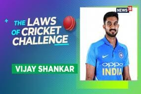 WATCH   The Laws of Cricket Challenge, Episode 10 With India & TN All-Rounder Vijay Shankar