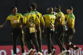 CPL 2020: Jamaica Beat Guyana, Ewin Lewis Powers St Kitts & Nevis Patriots to Big Win