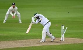 Pakistan's Babar punishes sloppy England in first test