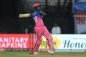 IPL 2020: Rajasthan Royal's Sanju Samson Thanks Sachin Tendulkar for Praising his ''Clean Striking''