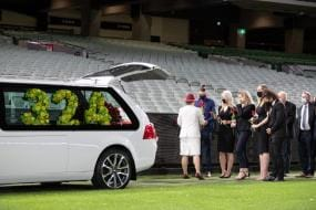 Wife Jane Jones Shares Loving Tribute to Dean Jones in a Moving Memorial Service at the MCG