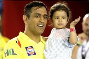 IPL 2020: MS Dhoni's Daughter Ziva Ges Rape Threats For Dad's Failure