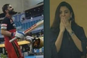 Happy Birthday Virat Kohli: When Pregnant Anushka Sharma Cheered For Kohli's RCB in IPL 2020, See Pics