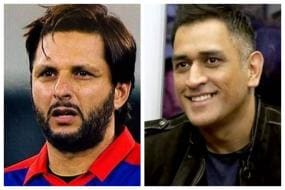 Shahid Afridi Comes Out in MS Dhoni's Support, Says 'Threat to Family is Not Right'