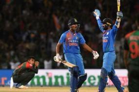 Was Angry When Vijay Shankar Was Sent Ahead in Nidahas Final, Dinesh Karthik Recalls