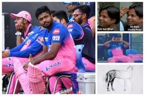 'Consistency and Sanju Samson are Distant Cousins. They Hardly Meet!' - RR Batsman Gets Trolled After Yet Another Single Digit Score