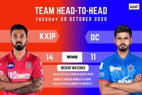 IPL 2020: Delhi Capitals vs Kings XI Punjab - Head to Head Record