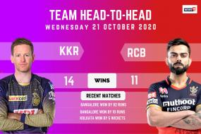 IPL 2020: Kolkata Knight Riders vs Royal Challengers Bangalore – Head to Head