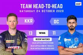 IPL 2020: Kolkata Knight Riders vs Delhi Capitals - Head to Head Record