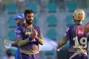 IPL 2020: Varun Chakravarthy Stars with Five-for in KKR's 59-run Win Over Delhi Capitals