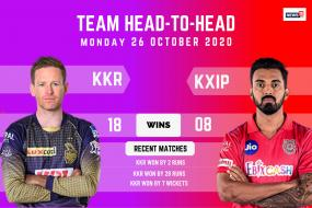 IPL 2020: Kolkata Knight Riders vs Kings XI Punjab – Head to Head Record