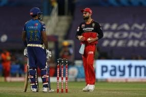 IPL 2020: WATCH - The Suryakumar Yadav Silent Stare at Virat Kohli That Spoke a Thousand Words