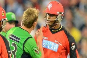 First Player to do Face Surgery: Marlon Samuels Hits Back At Shane Warne