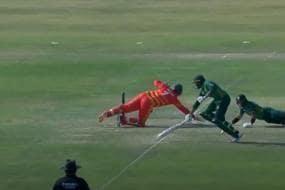 PAK vs ZIM 1st ODI: Video of Imam-ul-Haq's Bizarre Run Out Dismissal Goes Viral