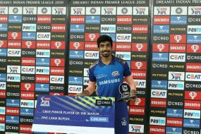 IPL 2020: Batsmen Have Been Taking All The Awards, So It's Good To Get It As A Bowler, Says Jasprit Bumrah