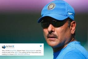 This Tweet By Ravi Shastri Stirs Controversy; Here Is How Netizens Remind Him Of His 'Mistake'