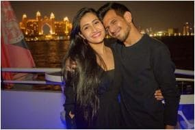 Yuzvendra Chahal Posts Pic With Dhanashree Verma; Calls Her His 'Home And Adventure'