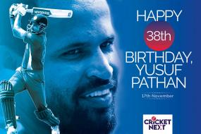 Happy Birthday Yusuf Pathan: Former India Allrounder Turns 38