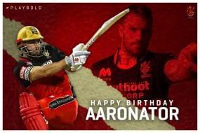 Royal Challengers Bangalore Wish Aaron 'Aaronator' Finch on his Birthday