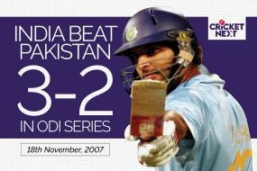 On This Day: MS Dhoni, Yuvraj Singh Lead India to ODI Series Win Against Pakistan