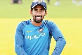 India vs Australia: Wriddhiman Saha Resumes Training at Team India Nets