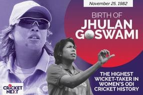 On This Day - November 25, 1982: Birth of Jhulan Goswami