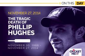 On This Day-November 27, 2014: The Tragic Death of Phillip Hughes