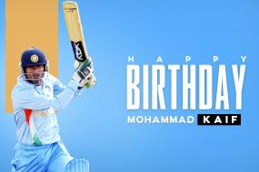 Happy Birthday Mohammad Kaif: Sports Fraternity Wishes Former Cricketer on his 40th Birthday