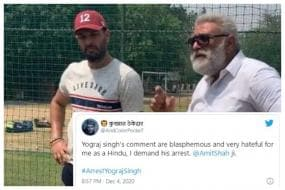 Yuvraj Singh Targeted After Father's 'Blasphemous' Speech During Farmer's Protest Goes Viral